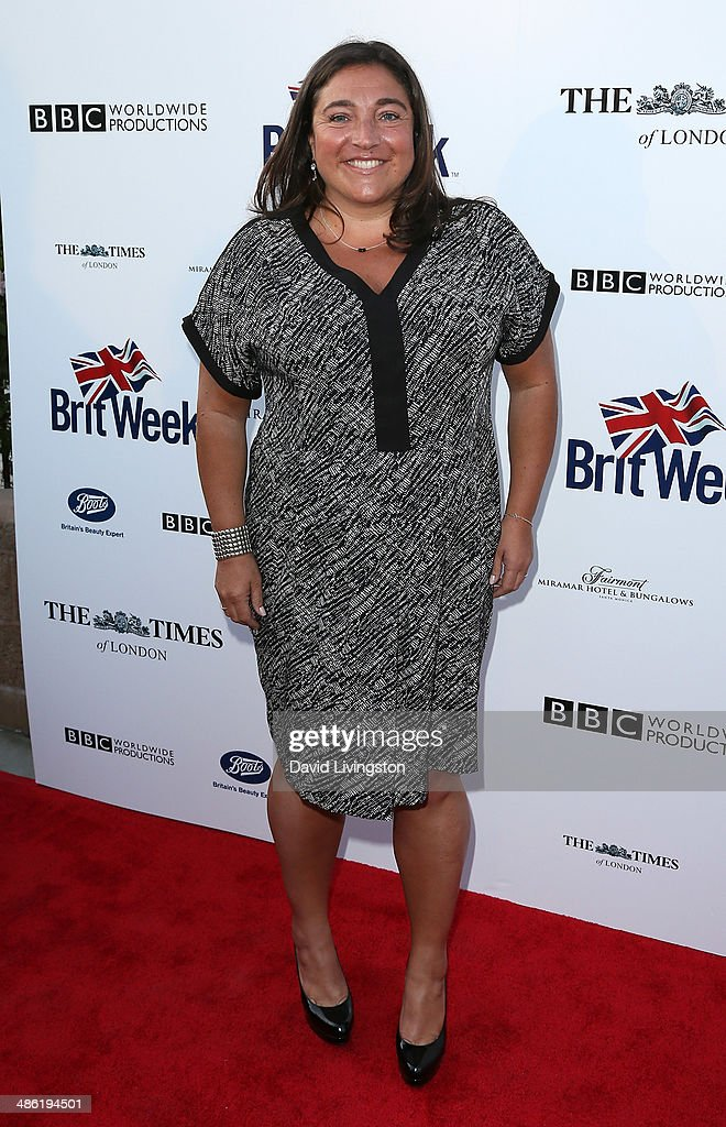 TV personality <a gi-track='captionPersonalityLinkClicked' href=/galleries/search?phrase=Jo+Frost&family=editorial&specificpeople=742700 ng-click='$event.stopPropagation()'>Jo Frost</a> attends the 8th Annual BritWeek Launch Party on April 22, 2014 in Los Angeles, California.