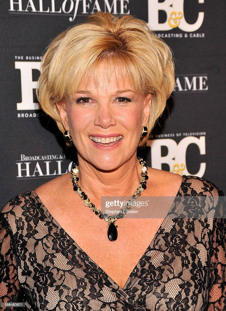 TV personality Joan Lunden attends The 2012 Broadcasting & Cable Hall Of Fame Awards at The Waldorf=Astoria on December 17, 2012 in New York City.