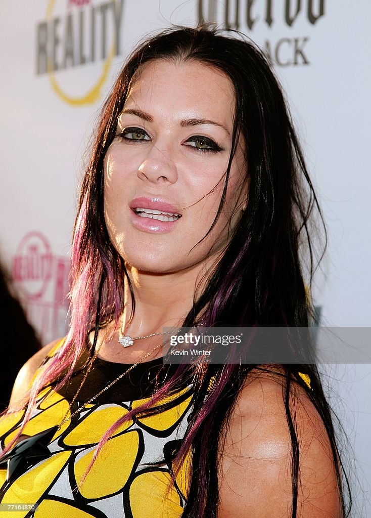 TV personality Joanie 'Chyna' Laurer arrives at the 2007 Fox Reality Channel Really Awards held at Boulevard 3 on October 2 2007 in Hollywood...