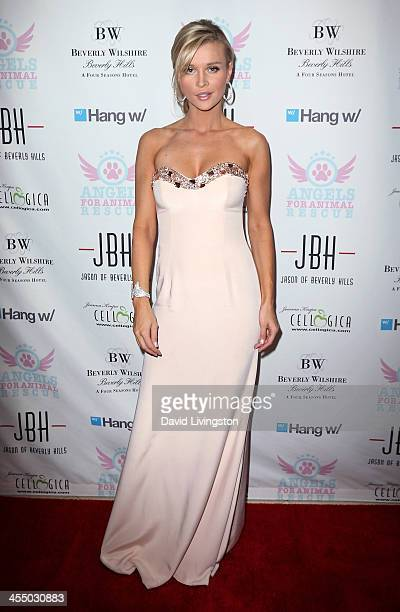TV personality Joanna Krupa attends the Angels for Animal Rescue Benefit hosted by Joanna Krupa at the Beverly Wilshire Four Seasons Hotel on...
