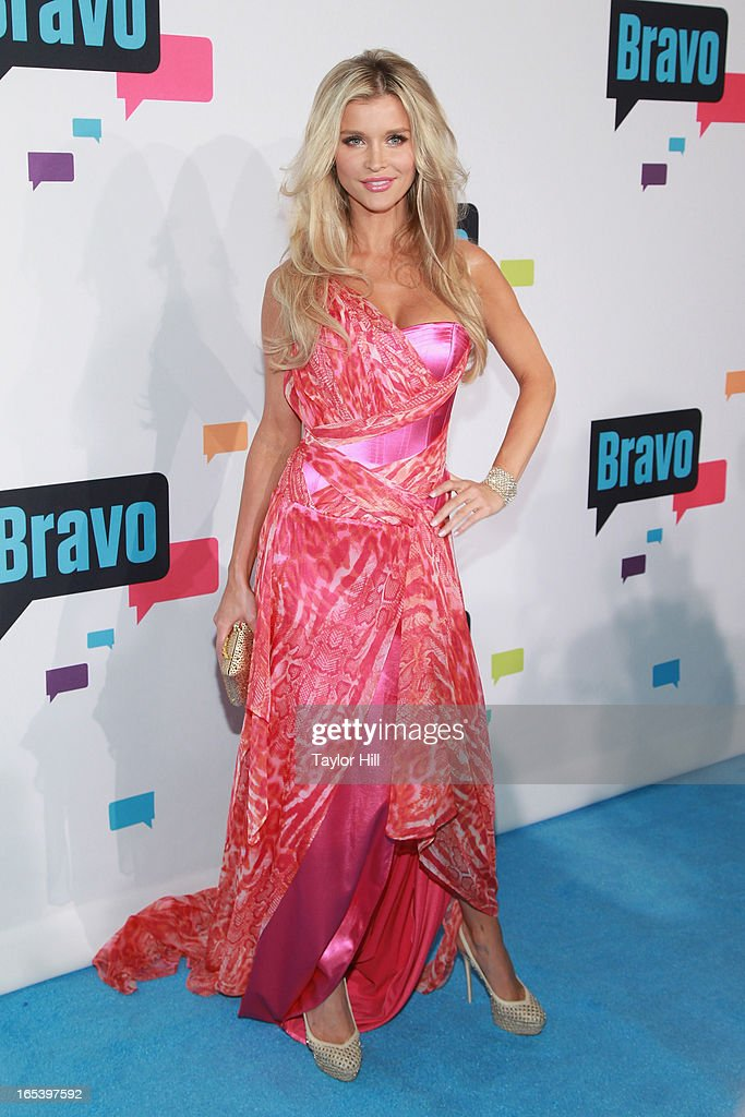 TV personality Joanna Krupa of 'The Real Housewives of Miami' attends the 2013 Bravo Upfront at Pillars 37 Studios on April 3, 2013 in New York City.