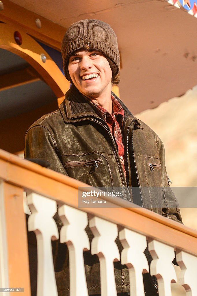 TV personality John Luke Robertson attends the 87th Annual Macy's Thanksgiving Day Parade on November 28, 2013 in New York City.