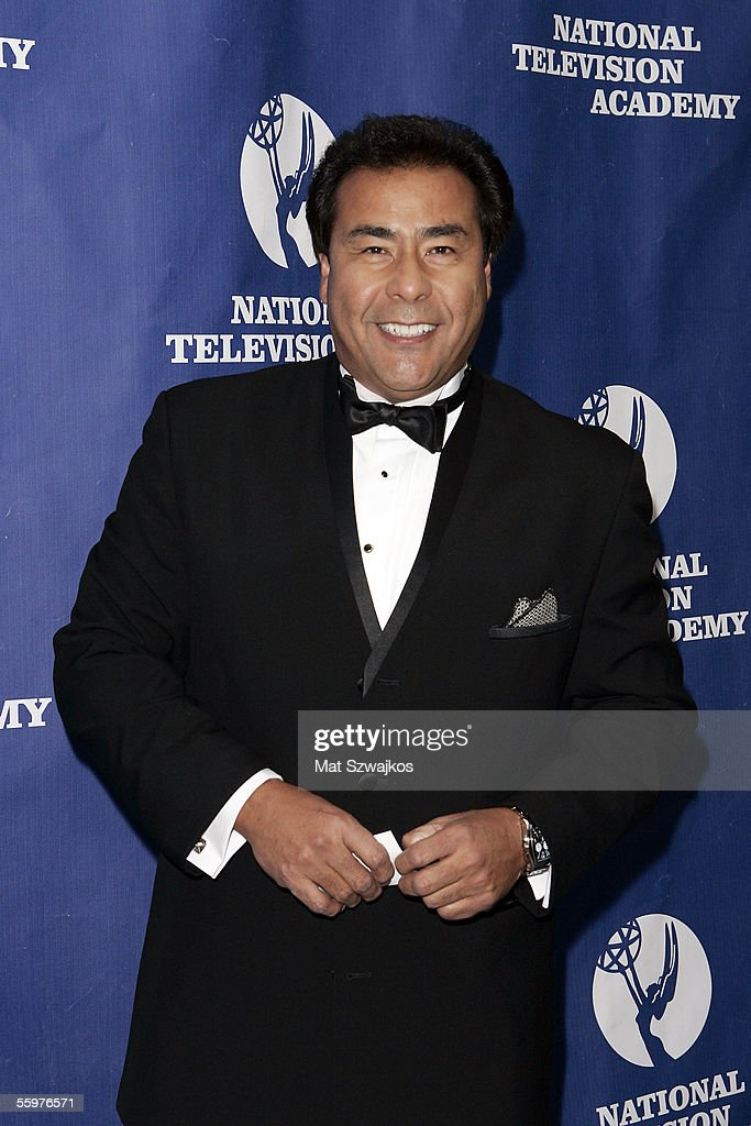 TV personality John Quinones arrives at the National Television Academy Honors on October 20 2005 in New York City