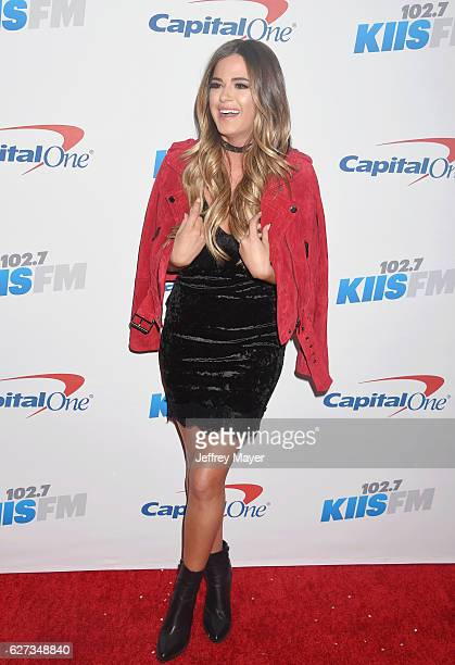 TV personality JoJo Fletcher attends 1027 KIIS FM's Jingle Ball 2016 at Staples Center on December 2 2016 in Los Angeles California