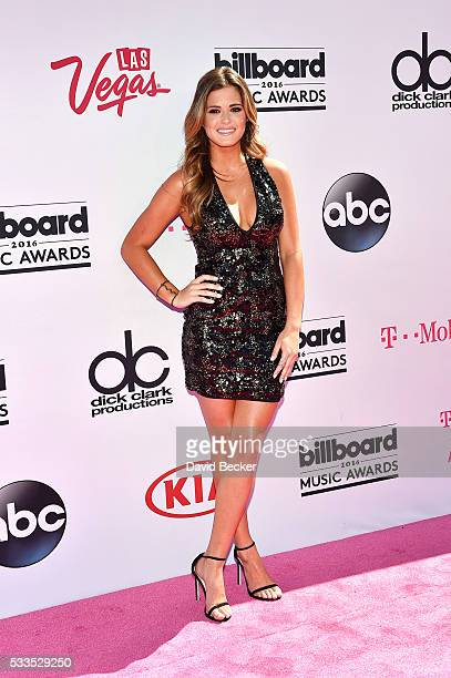 TV personality JoJo Fletcher attends the 2016 Billboard Music Awards at TMobile Arena on May 22 2016 in Las Vegas Nevada