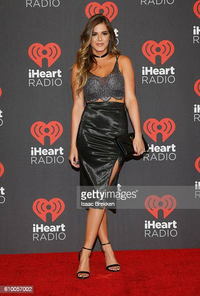 Personality Jojo Fletcher attends the 2016 iHeartRadio Music Festival at TMobile Arena on September 23 2016 in Las Vegas Nevada