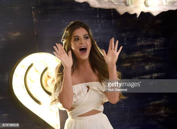 TV personality JoJo Fletcher attends the 2017 Daytime Village at the iHeartCountry Festival A Music Experience by ATT at The Frank Erwin Center on...
