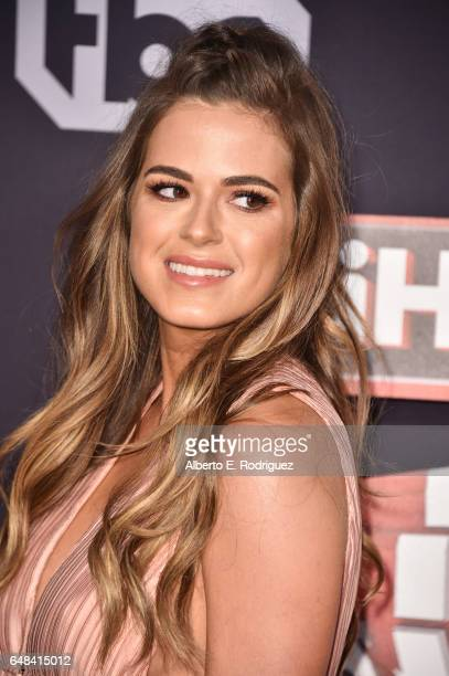 TV personality JoJo Fletcher attends the 2017 iHeartRadio Music Awards which broadcast live on Turner's TBS TNT and truTV at The Forum on March 5...