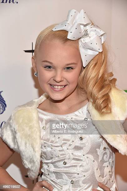TV personality JoJo Siwa attends 2015 Hollywood Christmas Parade on November 29 2015 in Hollywood California
