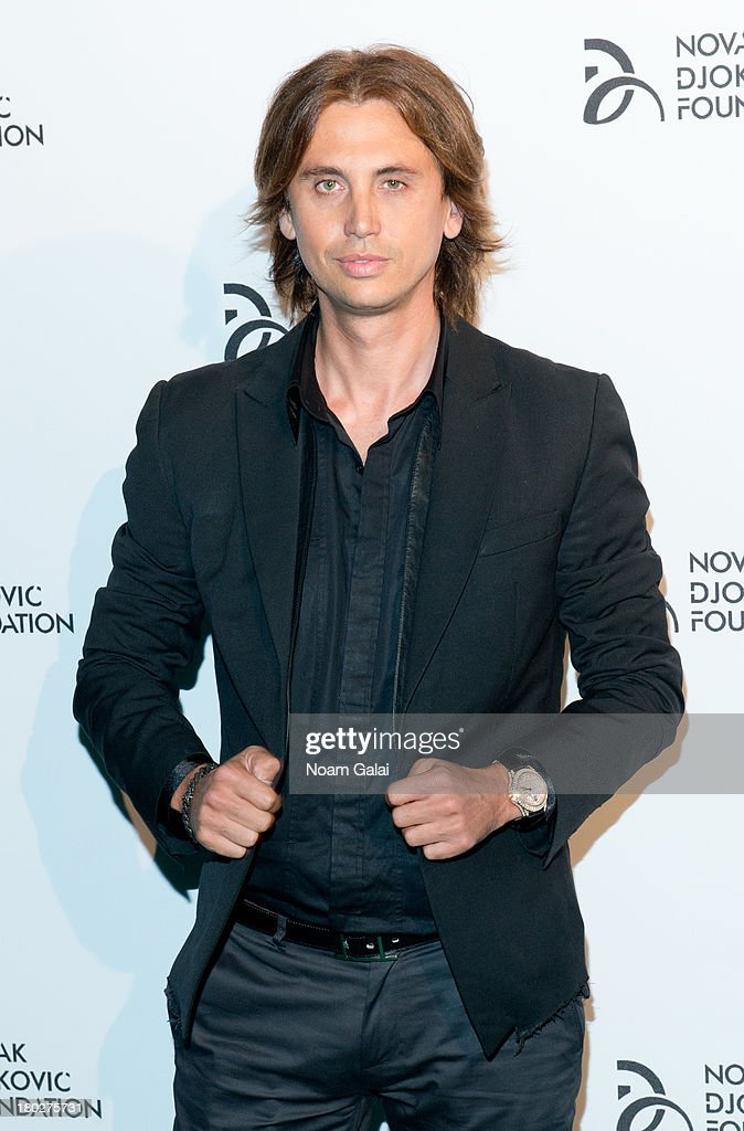 TV personality <a gi-track='captionPersonalityLinkClicked' href=/galleries/search?phrase=Jonathan+Cheban&family=editorial&specificpeople=538047 ng-click='$event.stopPropagation()'>Jonathan Cheban</a> attends the The 2013 Novak Djokovic Foundation Dinner at Capitale on September 10, 2013 in New York City.