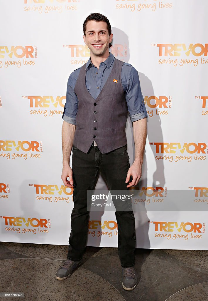 TV personality Jonathan D. Lovitz attends the Trevor NextGen 4th Annual Spring Fling at Maritime Hotel on April 5, 2013 in New York, United States.