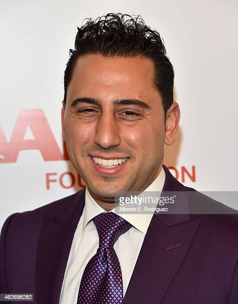 TV personality Josh Altman arrives to AARP The Magazine's 14th Annual Movies For Grownups Awards Gala at the Beverly Wilshire Four Seasons Hotel on...
