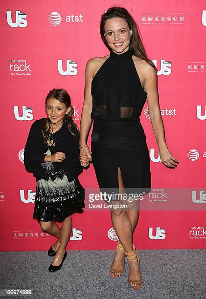 TV personality Josie Maran and daughter attend Us Weekly's Annual Hot Hollywood Style Issue event at the Emerson Theatre on April 18 2013 in...