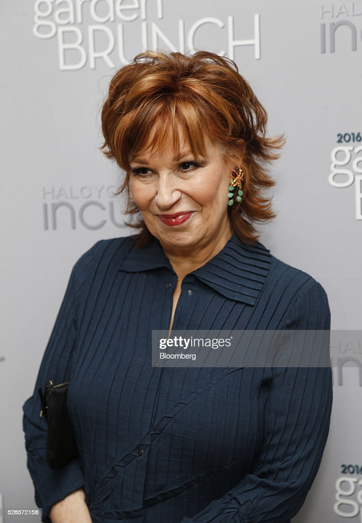 TV personality Joy Behar attends the 23rd Annual White House Correspondents' Garden Brunch in Washington, D.C., U.S., on Saturday, April 30, 2016. The event will raise awareness for Halcyon Incubator, an organization that supports early stage social entrepreneurs 'seeking to change the world' through an immersive 18-month fellowship program. Photographer: Andrew Harrer/Bloomberg via Getty Images