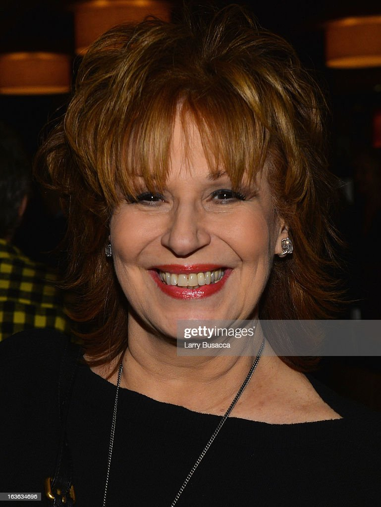 TV personality Joy Behar attends the after party for the 'Phil Spector' premiere at the Time Warner Center on March 13, 2013 in New York City.