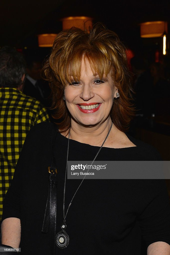 TV personality <a gi-track='captionPersonalityLinkClicked' href=/galleries/search?phrase=Joy+Behar&family=editorial&specificpeople=214608 ng-click='$event.stopPropagation()'>Joy Behar</a> attends the after party for the 'Phil Spector' premiere at the Time Warner Center on March 13, 2013 in New York City.