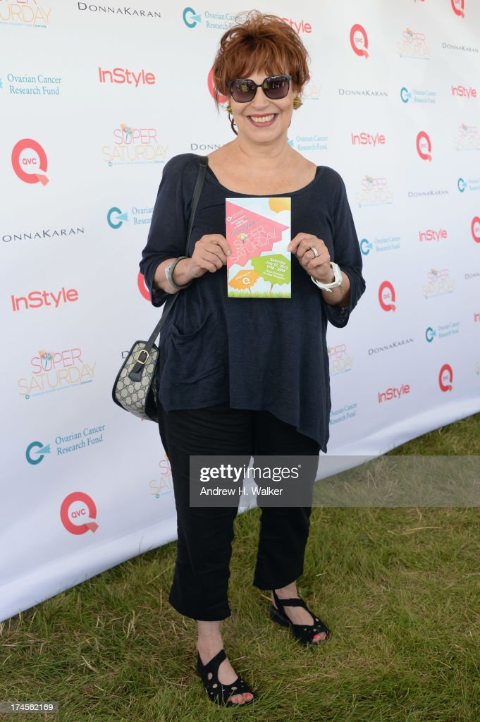 TV Personality Joy Behar attends the Ovarian Cancer Research Fund's 16th Annual Super Saturday hosted by Kelly Ripa and Donna Karan at Nova's Ark Project on July 27, 2013 in Water Mill, NY.
