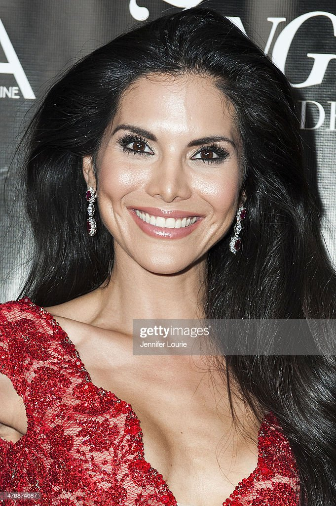 TV personality <a gi-track='captionPersonalityLinkClicked' href=/galleries/search?phrase=Joyce+Giraud&family=editorial&specificpeople=841715 ng-click='$event.stopPropagation()'>Joyce Giraud</a> arrives at the Naluda Magazine March Issue launch party with cover girl <a gi-track='captionPersonalityLinkClicked' href=/galleries/search?phrase=Joyce+Giraud&family=editorial&specificpeople=841715 ng-click='$event.stopPropagation()'>Joyce Giraud</a> hosted at the Luxe Rodeo Drive Hotel on March 4, 2014 in Beverly Hills, California.