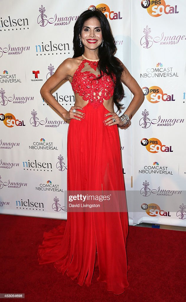 TV personality <a gi-track='captionPersonalityLinkClicked' href=/galleries/search?phrase=Joyce+Giraud&family=editorial&specificpeople=841715 ng-click='$event.stopPropagation()'>Joyce Giraud</a> attends the 29th Annual Imagen Awards at the Beverly Hilton Hotel on August 1, 2014 in Beverly Hills, California.