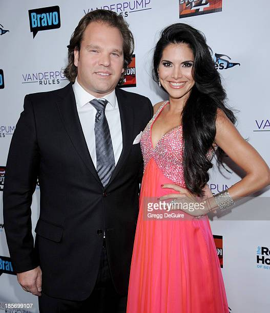TV personality Joyce Giraud de Ohoven and husband Michael Ohoven arrive at 'The Real Housewives Of Beverly Hills' And 'Vanderpump Rules' premiere...