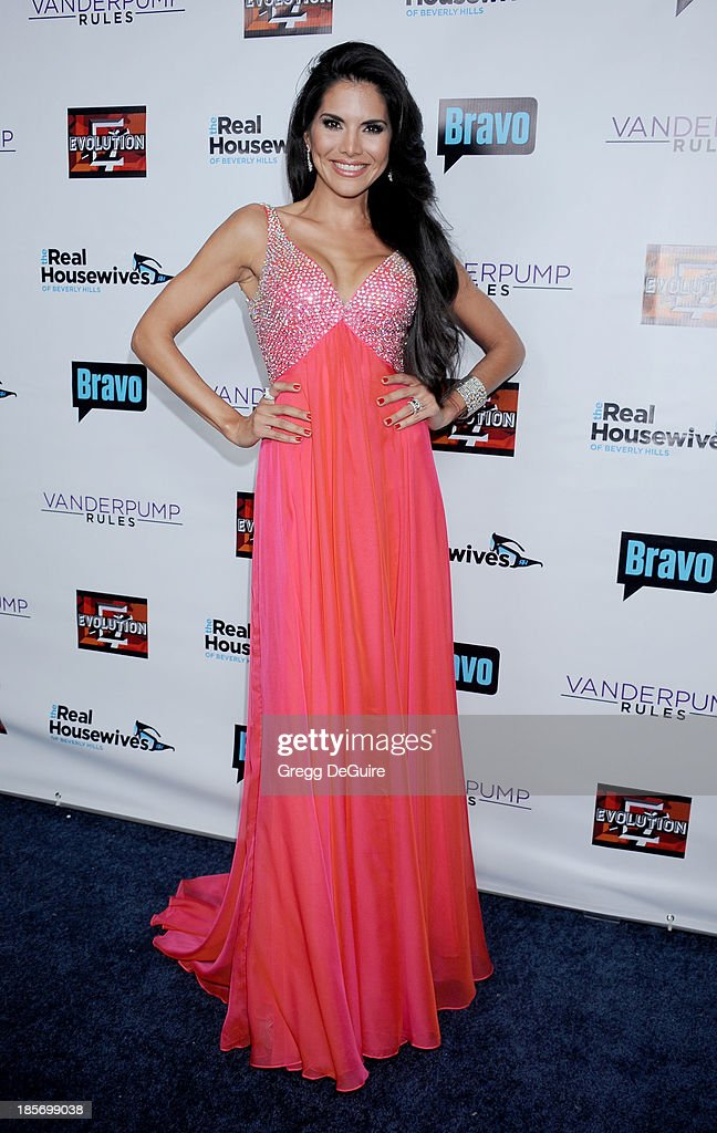 TV personality Joyce Giraud de Ohoven arrives at 'The Real Housewives Of Beverly Hills' And 'Vanderpump Rules' premiere party at Boulevard3 on October 23, 2013 in Hollywood, California.