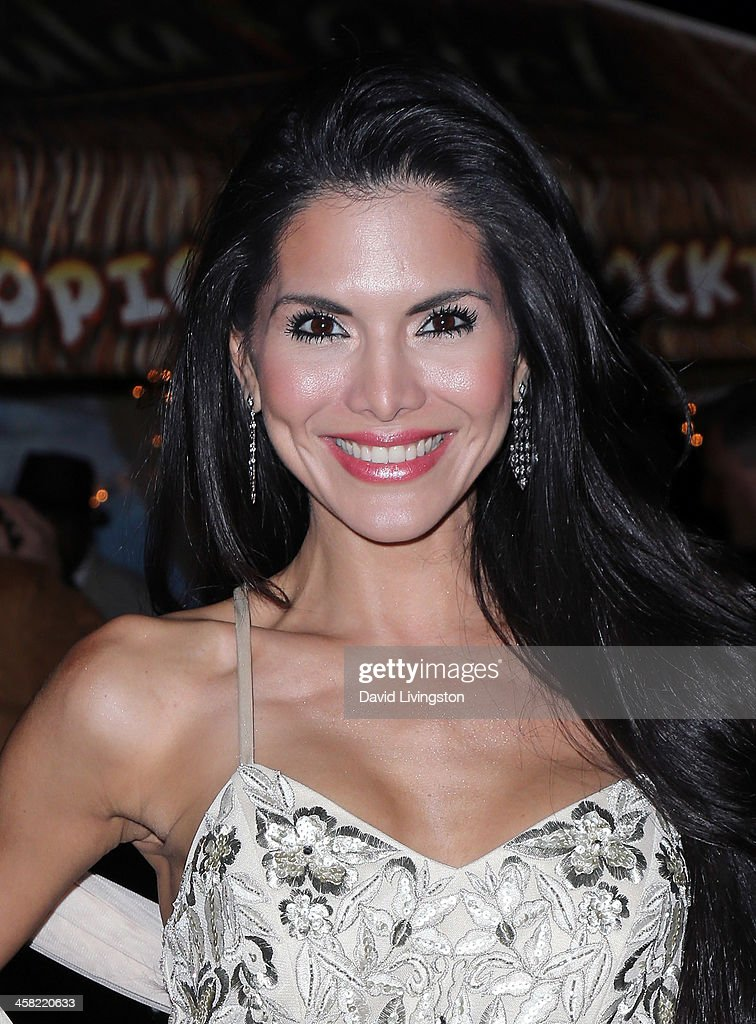 TV personality <a gi-track='captionPersonalityLinkClicked' href=/galleries/search?phrase=Joyce+Giraud&family=editorial&specificpeople=841715 ng-click='$event.stopPropagation()'>Joyce Giraud</a> de Ohoven attends Sue Wong's holiday party at her home on December 20, 2013 in Los Angeles, California.