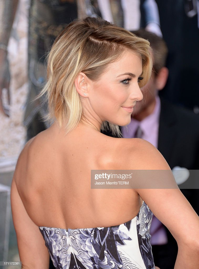 TV personality Julianne Hough attends the premiere of Walt Disney Pictures' 'The Lone Ranger' at Disney California Adventure Park on June 22, 2013 in Anaheim, California.