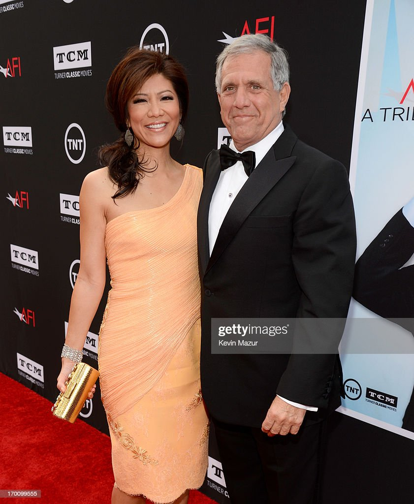 TV Personality Julie Chen and President and Chief Executive Officer of CBS Corporation Les Moonves attend AFI's 41st Life Achievement Award Tribute to Mel Brooks at Dolby Theatre on June 6, 2013 in Hollywood, California. 23647_004_KM_0499.JPG