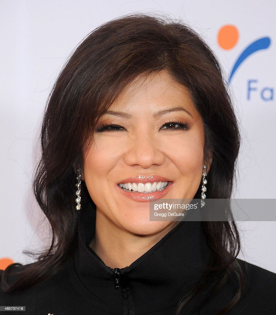 TV personality Julie Chen arrives at Venice Family Clinic's 33rd Annual Silver Circle Gala at the Beverly Wilshire Four Seasons Hotel on March 9, 2015 in Beverly Hills, California.