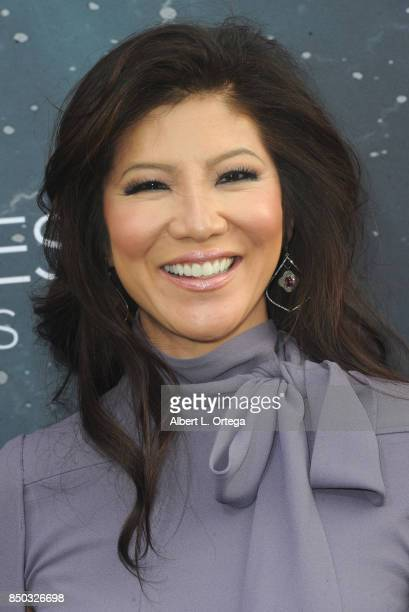Personality Julie Chen arrives for the Premiere Of CBS's 'Star Trek Discovery' held at The Cinerama Dome on September 19 2017 in Los Angeles...