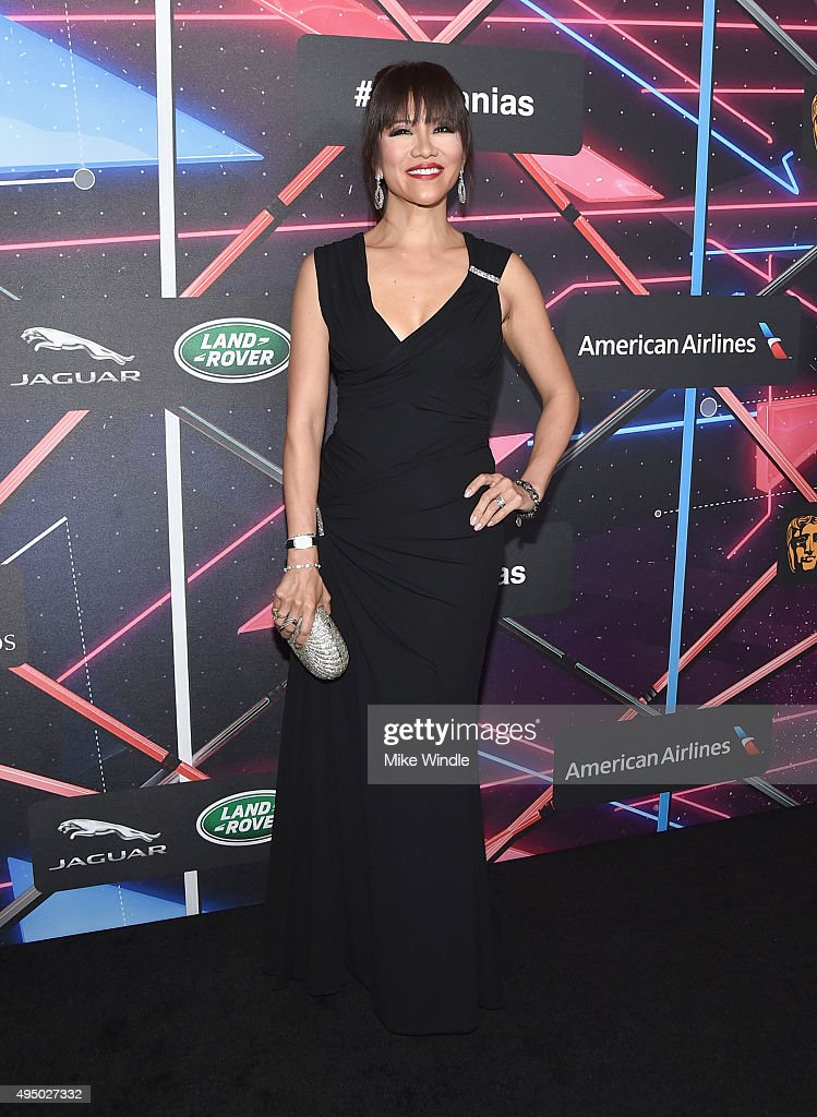 TV personality Julie Chen attends the 2015 Jaguar Land Rover British Academy Britannia Awards presented by American Airlines at The Beverly Hilton Hotel on October 30, 2015 in Beverly Hills, California.
