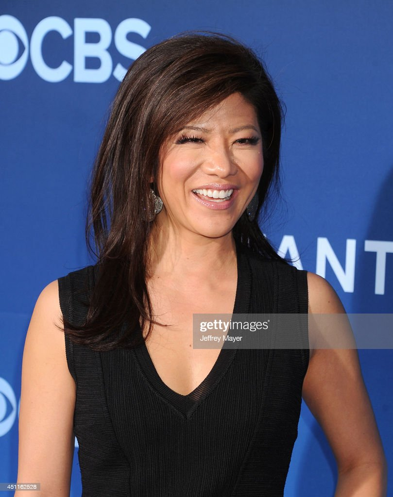 TV personality Julie Chen attends the Premiere Of CBS Films' 'Extant' at California Science Center on June 16 2014 in Los Angeles California