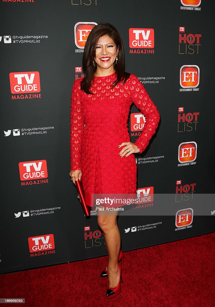 TV Personality Julie Chen attends TV Guide magazine's annual Hot List Party at The Emerson Theatre on November 4, 2013 in Hollywood, California.