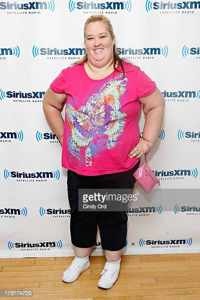 TV personality June 'Mama June' Shannon visits the SiriusXM Studios on July 17 2013 in New York City