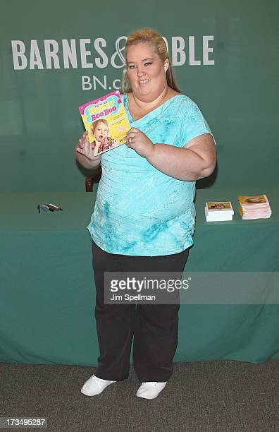 Personality June Shannon attends the 'How To Honey Boo Boo The Complete Guide' book event on July 15 2013 in New York City