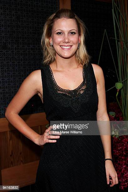 TV personality Justine Schofield attends the official launch for Tokonoma shochu bar and lounge combined with designer Akira Isogawa's new collection...