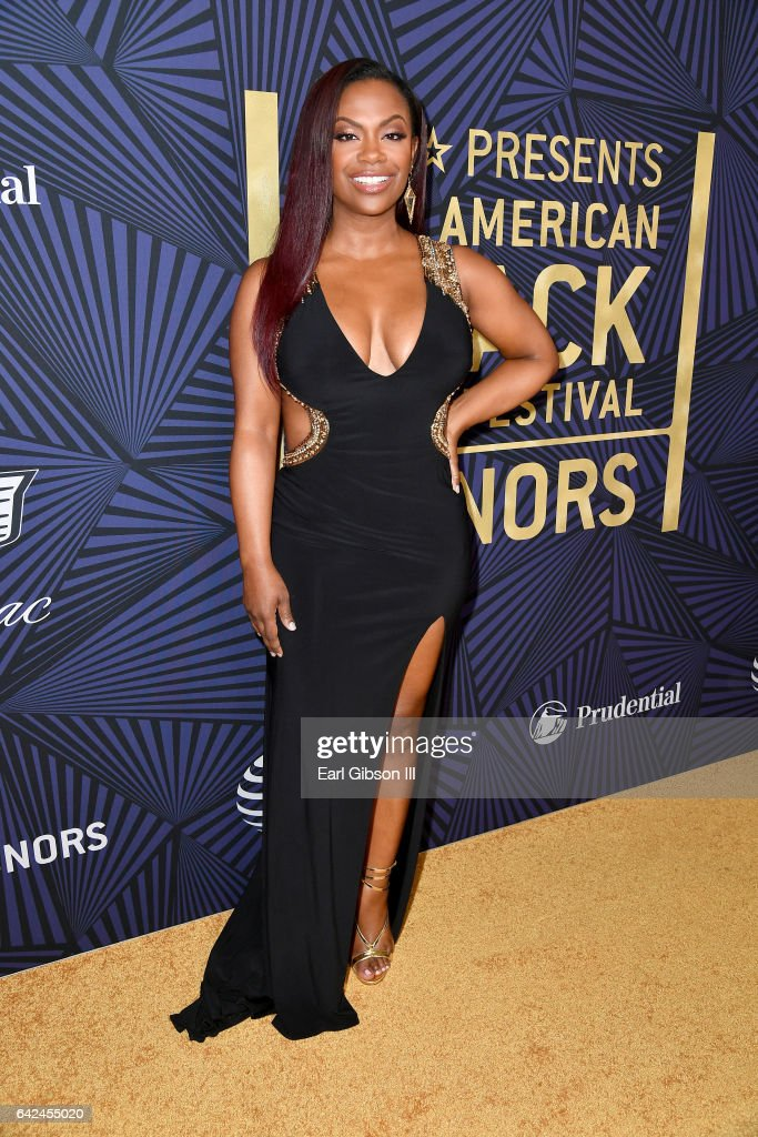 TV personality Kandi Burruss attends BET Presents the American Black Film Festival Honors on February 17, 2017 in Beverly Hills, California.