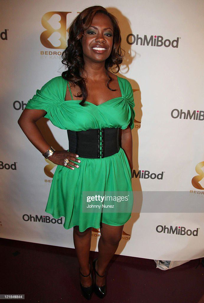 tv personality kandi burruss attends the bedroom kandi launch party at