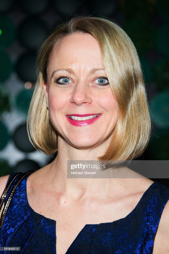 TV personality Karen Biehl attends the Go Green for Fashion event at Greenhouse on March 11 2011 in New York City