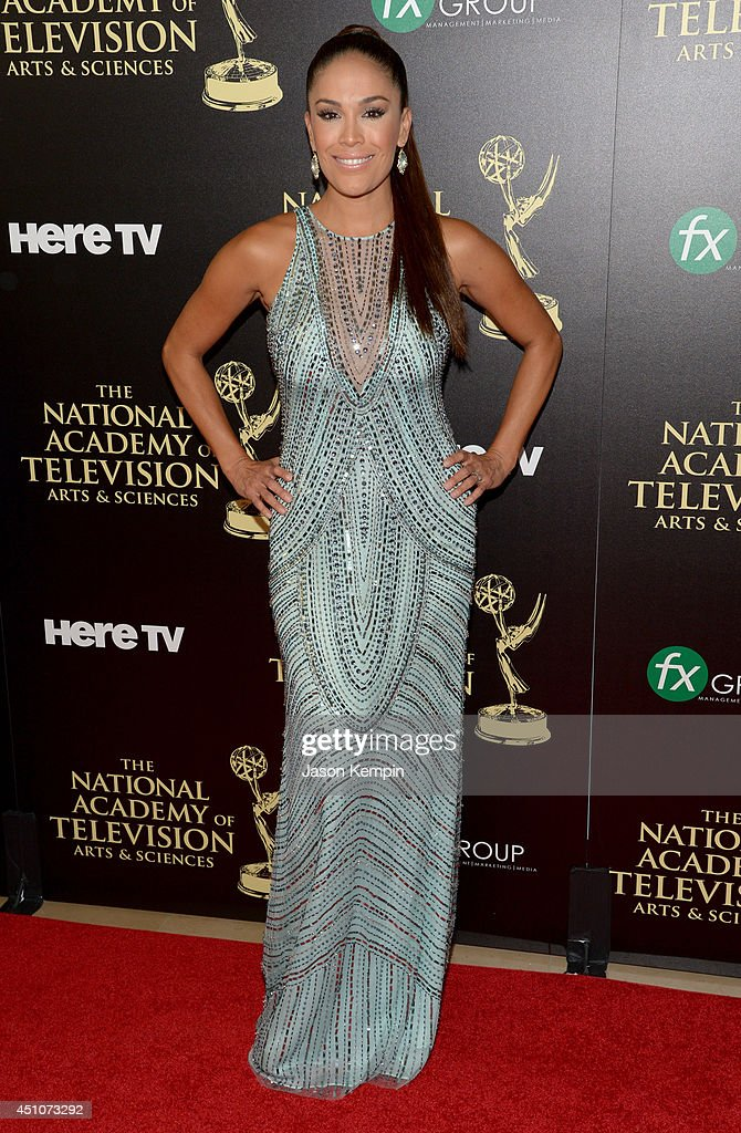 TV personality Karla Martínez attends The 41st Annual Daytime Emmy Awards at The Beverly Hilton Hotel on June 22, 2014 in Beverly Hills, California.