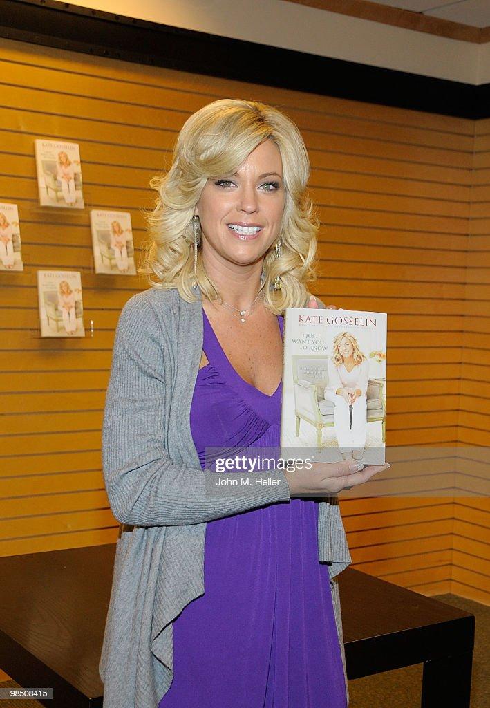 Kate Gosselin Book Signing