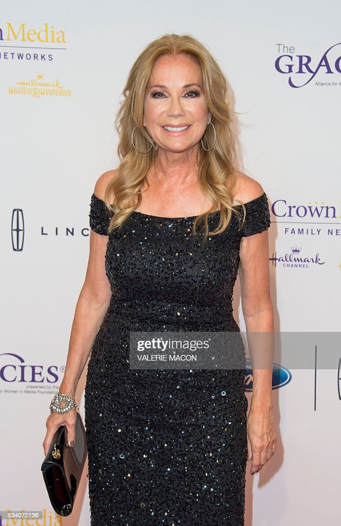 TV personality Kathie Lee Gifford attends the 41st Annual Gracies Awards Gala in Beverly Hills, California, on May 24, 2016. / AFP / VALERIE