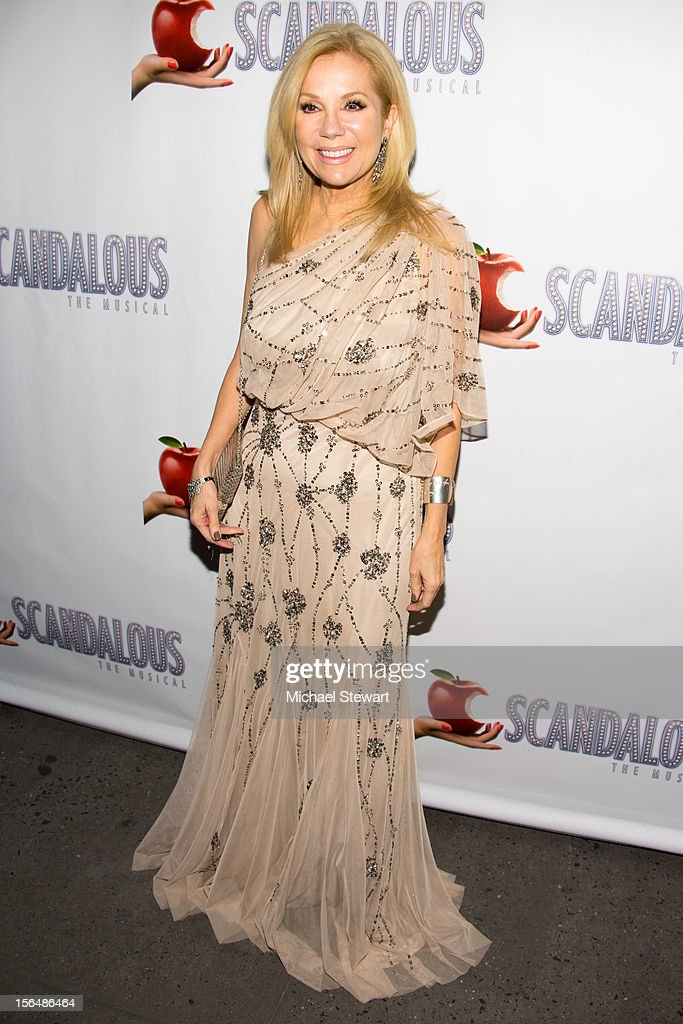TV personality Kathie Lee Gifford attends the 'Scandalous' Broadway Opening Night' at Neil Simon Theatre on November 15, 2012 in New York City.