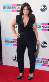 TV personality Kathy Wakile attends the 2013 American Music Awards at Nokia Theatre LA Live on November 24 2013 in Los Angeles California