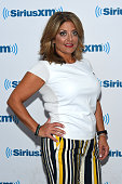 TV personality Kathy Wakile visits at SiriusXM Studios on July 12 2016 in New York City