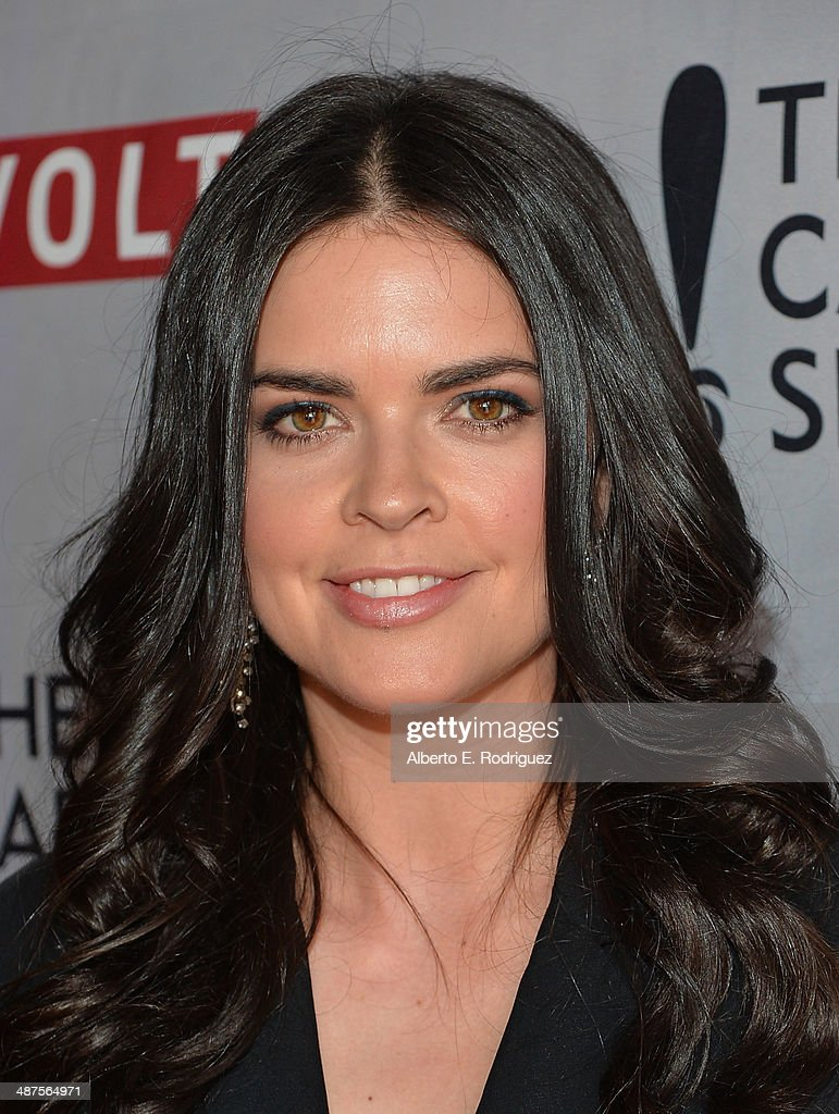 TV personality Katie Lee attends REVOLT and The National Cable and Telecommunications Association's Celebration of Cable at Belasco Theatre on April 30, 2014 in Los Angeles, California.