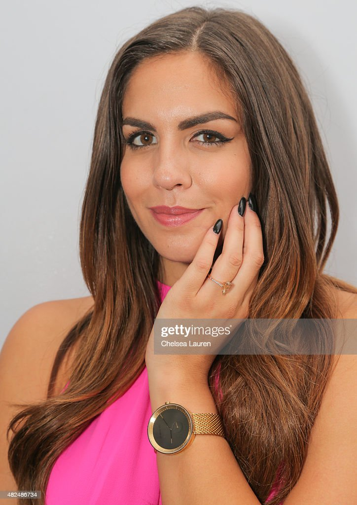 TV personality Katie Maloney attends her Pucker and Pout launch party at Frederic Fekkai Hair Salon on July 30, 2015 in Beverly Hills, California.