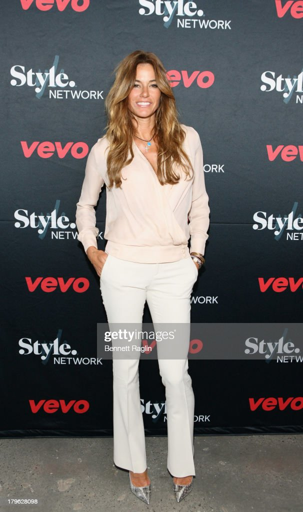 TV personality Kelly Bensimon attends Style Network's 'Style To Rock' Event at Skylight Modern on September 5 2013 in New York City