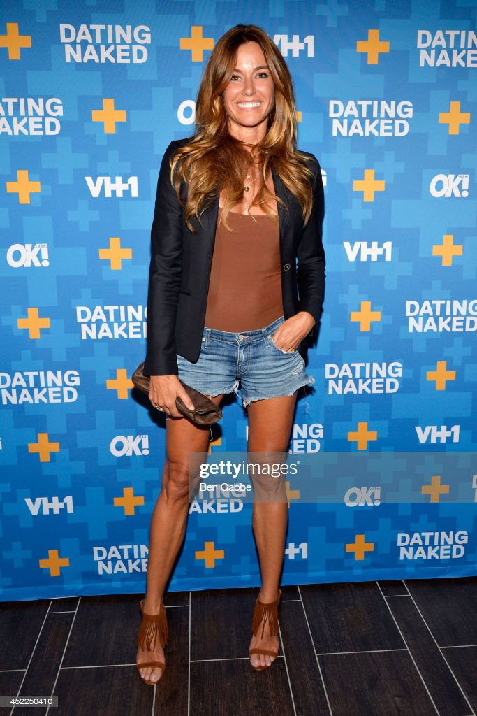 TV personality Kelly Bensimon attends the 'Dated Naked' series premiere at Gansevoort Park Avenue on July 16 2014 in New York City