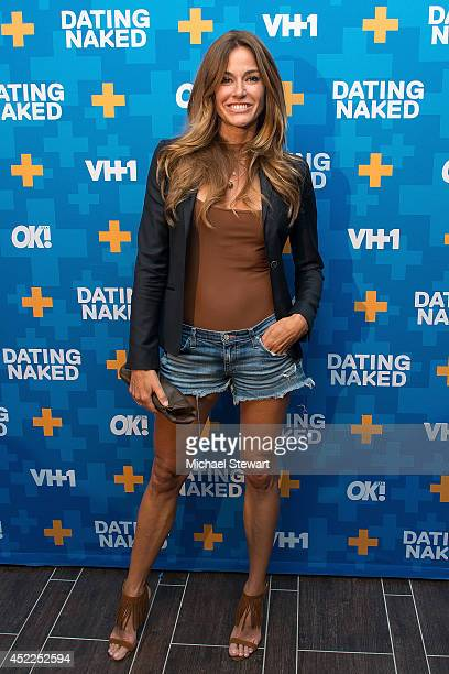 TV personality Kelly Bensimon attends the 'Dating Naked' series premiere at Gansevoort Park Avenue on July 16 2014 in New York City